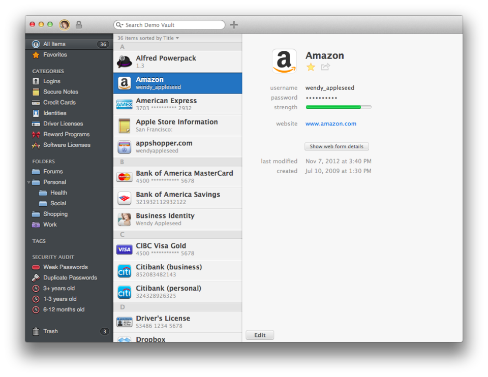 Use 1Password to Securely Manage Your Passwords