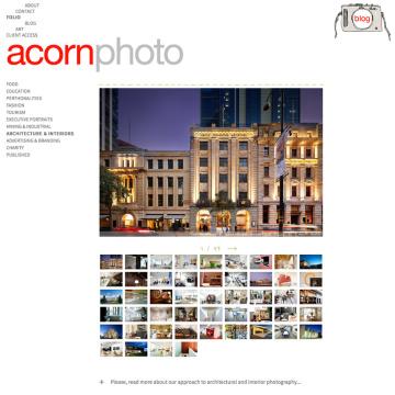 Acorn Photo Gallery Architecture