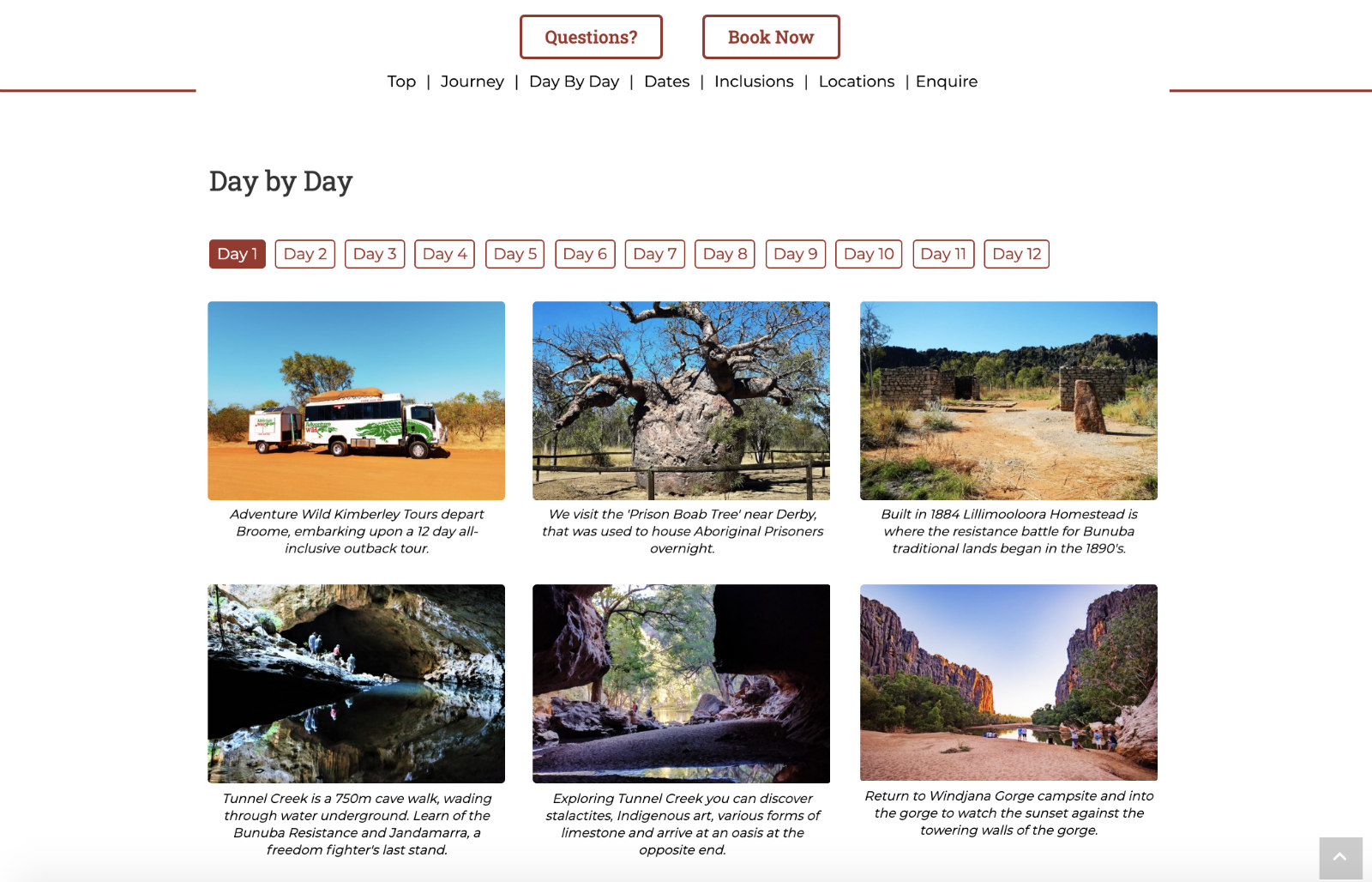 Adventure Wild Day by Day Visual Diary