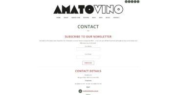Amato Vino Contact