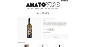Amato Vino Store Preview