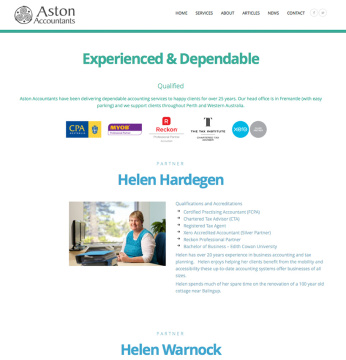 Aston Accountants About