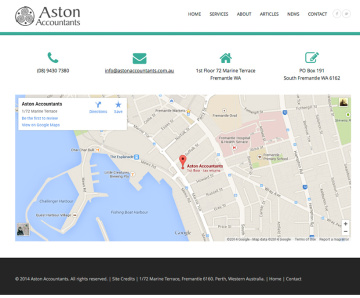 Aston Accountants Contact