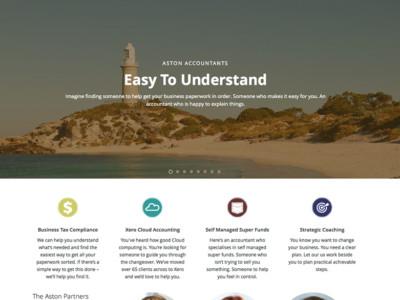 Aston Accountants Website Home