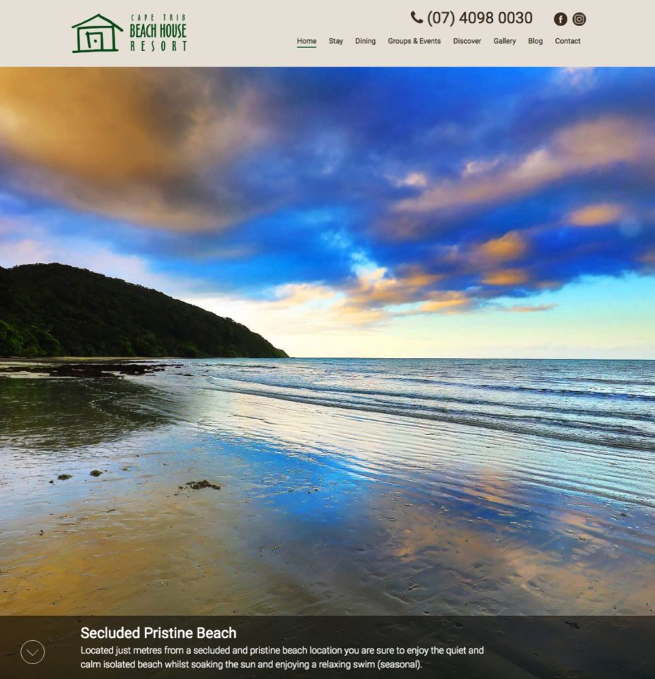 Cape Trib Beach House Accommodation Home