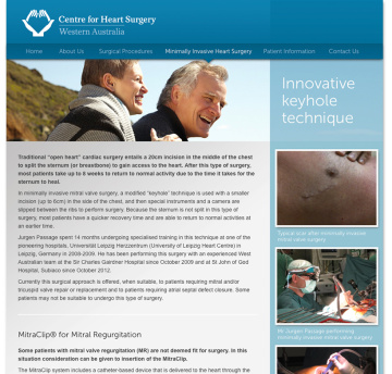 Centre for Heart Surgery Contact