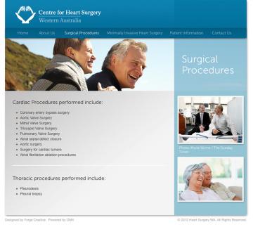 Centre for Heart Surgery Procedures