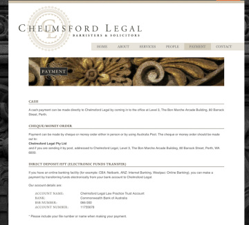 Chelmsford Legal Payment