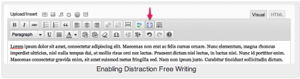 Distraction Free Writing icon
