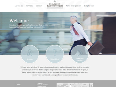 Dr Andrew Rosenstengel Medical Website Home