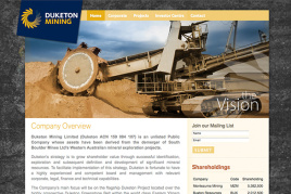 Mining Websites
