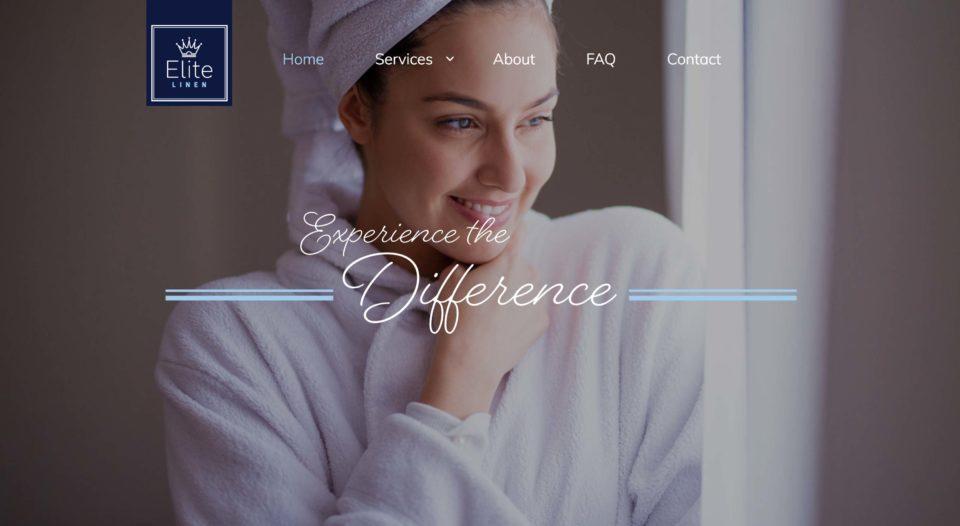 Elite Linen Website