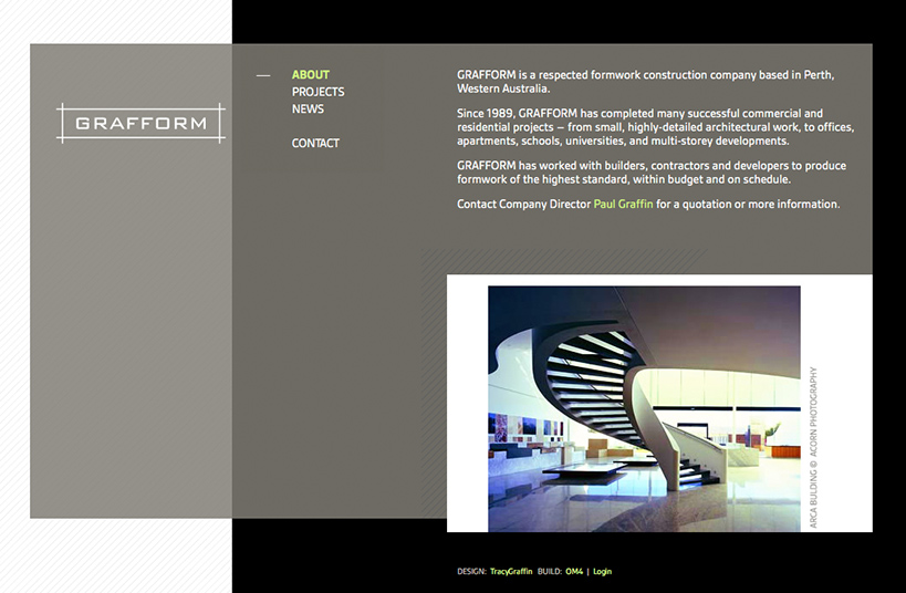 Grafform Formwork Website Home