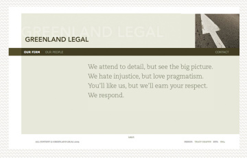 Greenland Legal Website Home
