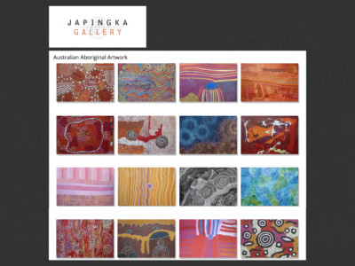 website design for australian art galleries om4