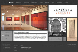 Galleries & The Arts Websites