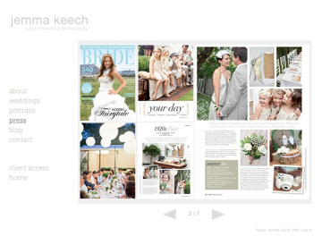 Jemma Keech Photography Press