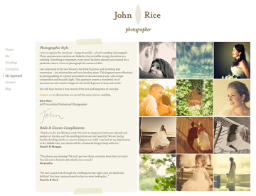 John Rice Photographer Approach