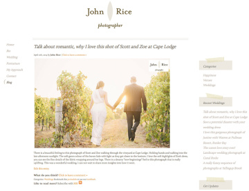 John Rice Photographer Blog