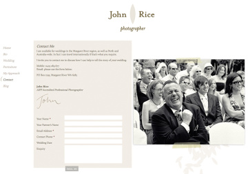 John Rice Photographer Contact