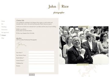 John Rice Photographer Contact