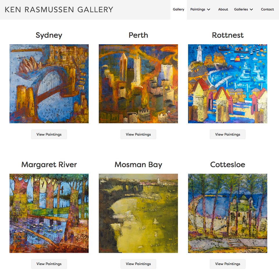 Ken Rasmussen Art Gallery