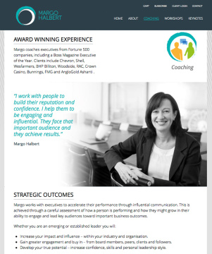Margo Halbert Executive Coaching