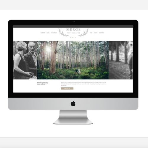 Merge Photography Website Refresh