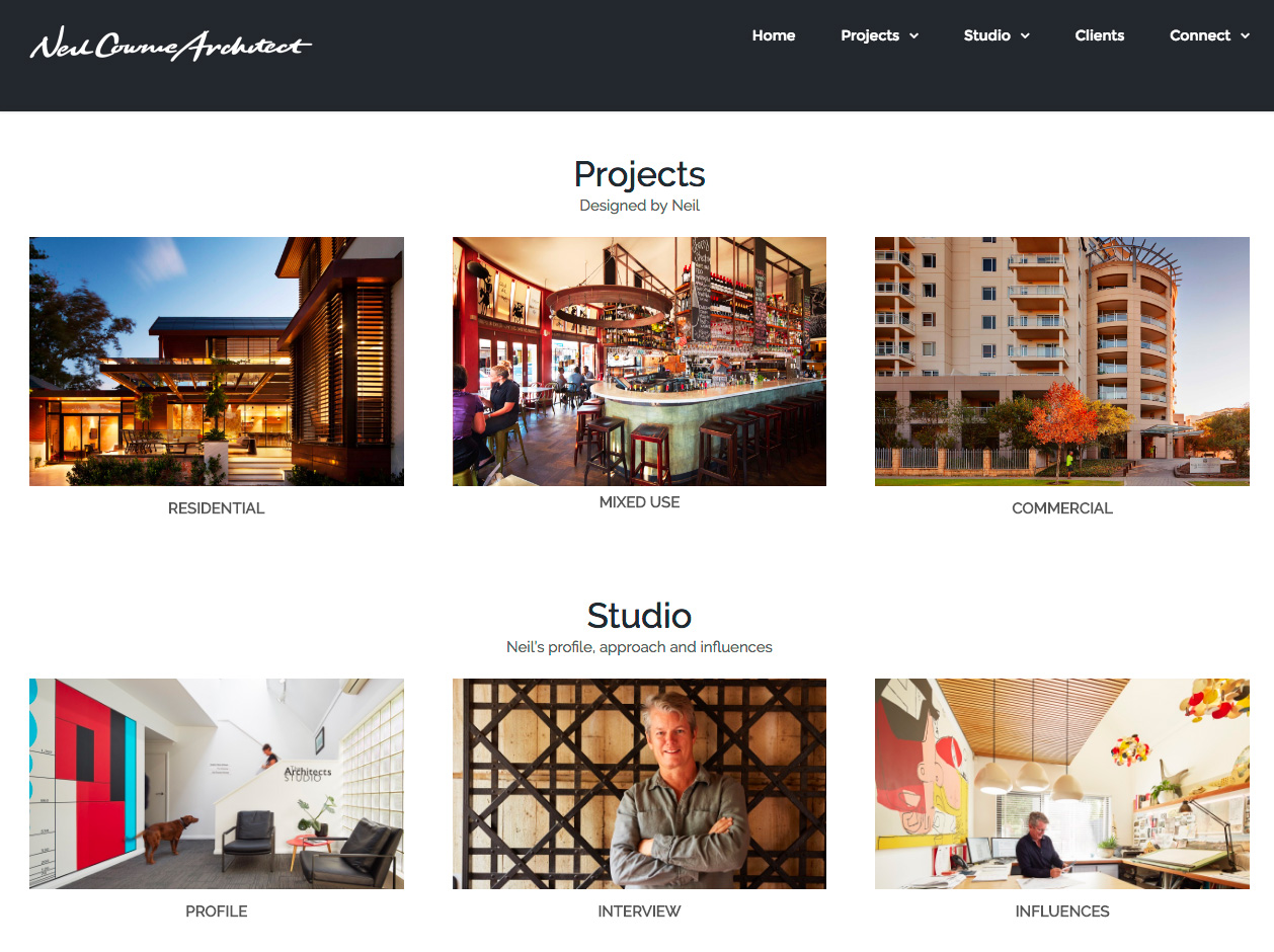 Architecture & Home Websites