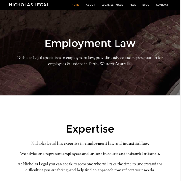 Nicholas Legal Employment Law