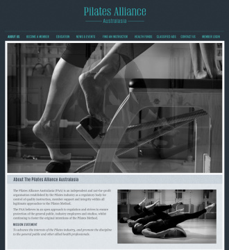 Pilates Alliance of Australasia About