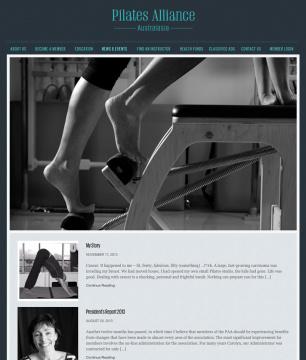 Pilates Alliance of Australasia News