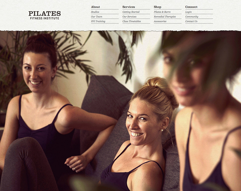 Pilates Fitness Institute of WA Website Home