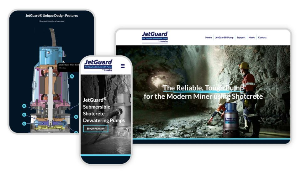 JetGuard Submersible Dewatering Pump