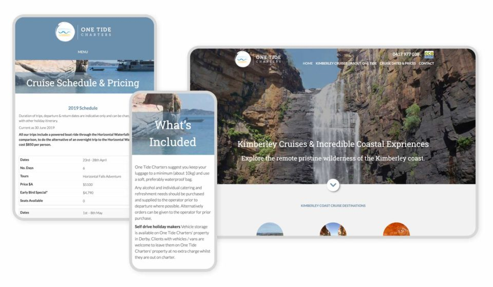 Responsive Graphic - One Tide Charter