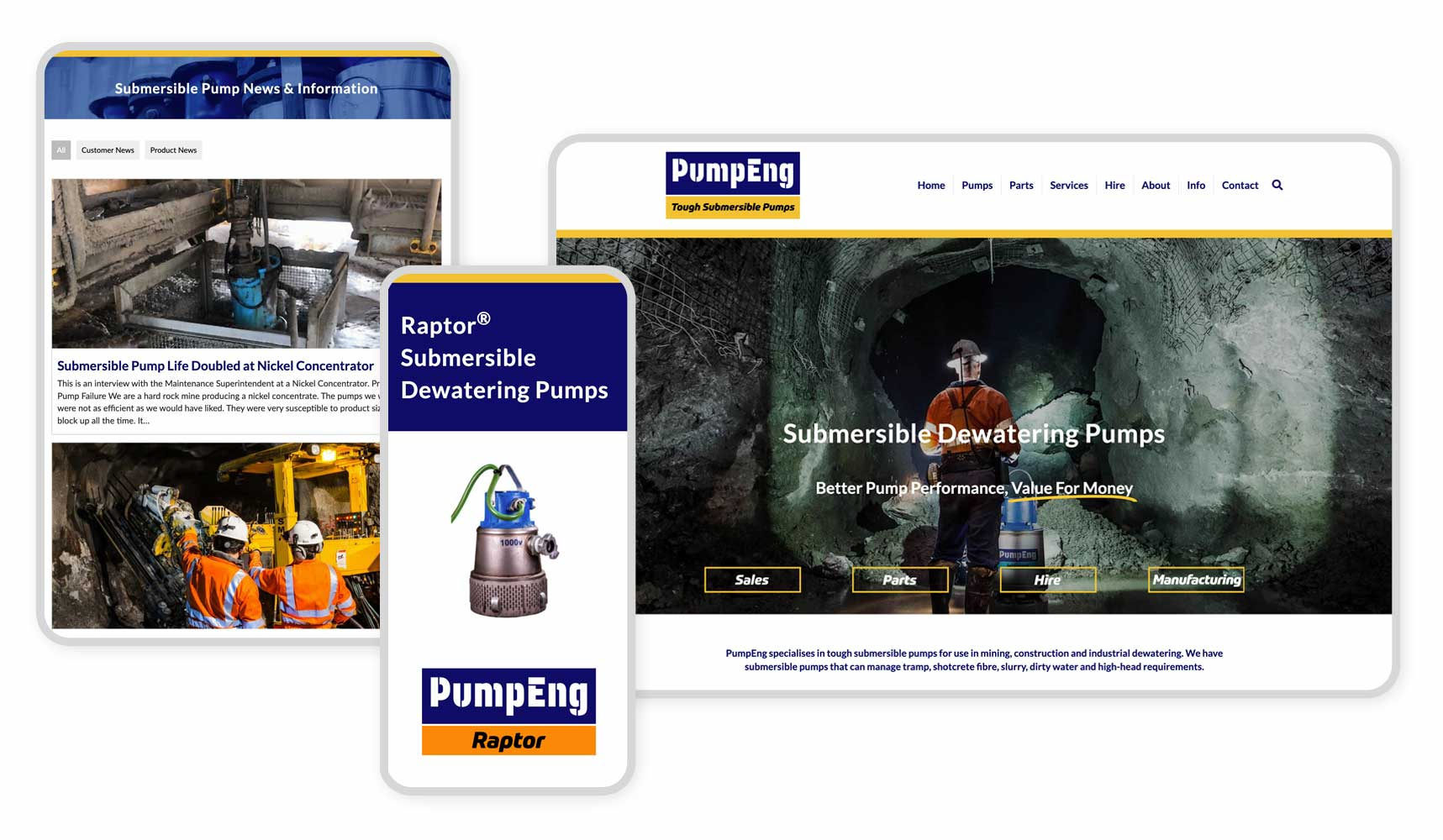 Responsive Graphic PumpEng