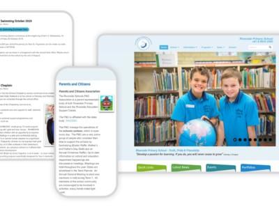 Responsive Graphic Riverside Primary School v1