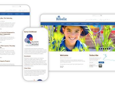 Responsive Graphic Rosalie Primary School