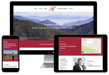 Rothsay Auditing Responsive Website