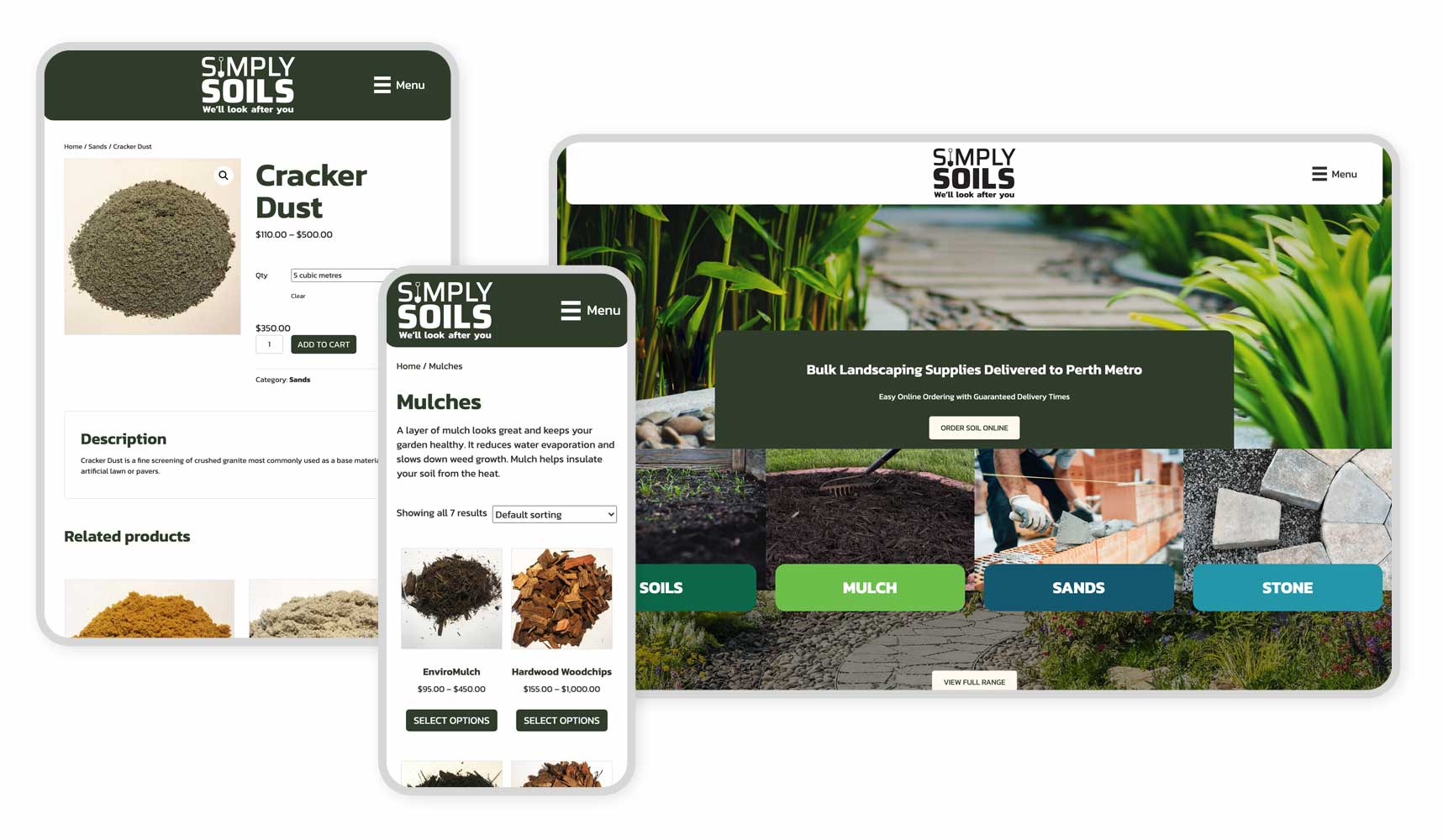 Responsive Graphic Simply Soils