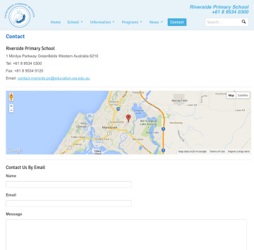 Riverside Primary School Contact