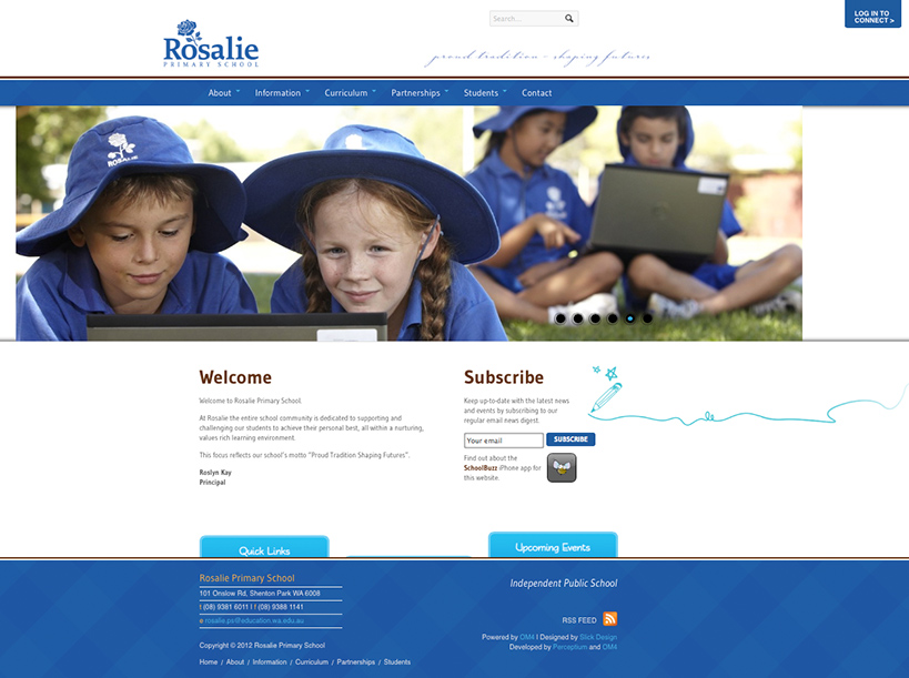 Rosalie Primary School Website Home