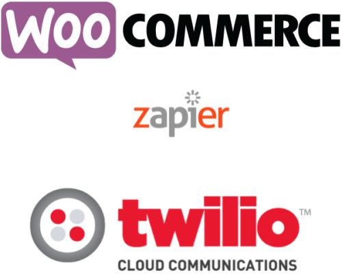 SMS Zapier WooCommerce Twilio