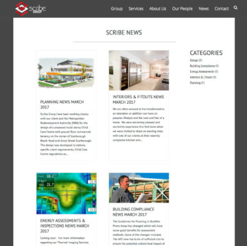 Scribe Group - News Page