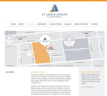 St Louis Estate Map
