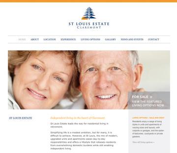St Louis Estate Retirement Home Website