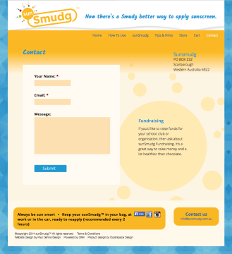 SunSmudg Contact