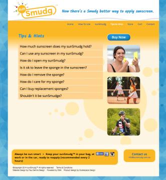 SunSmudg Tips