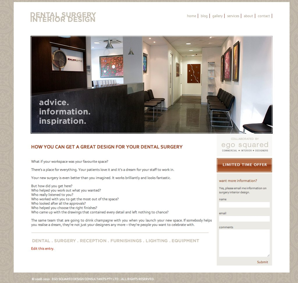 Bouncing the bounce rate the value of good design om4 for Interior design services rates