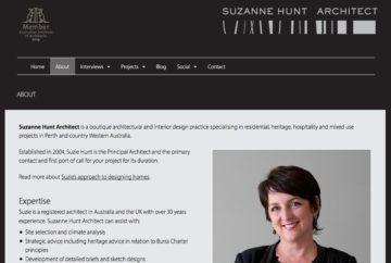 Suzanne Hunt Architect Web About